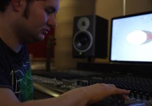 Kyle in the Studio